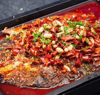 鱼打滚重庆烤鱼加盟图片