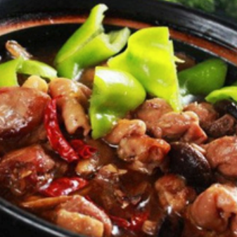 聚福斋黄焖鸡米饭加盟图片
