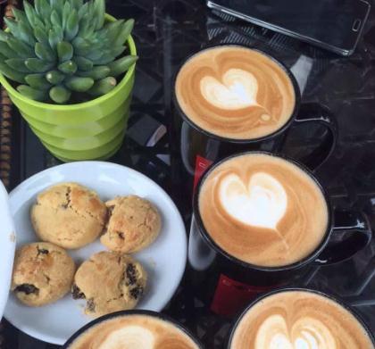 阿拉比卡咖啡店加盟图片