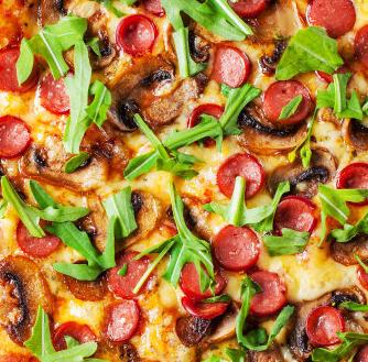 红色帽子披萨店加盟