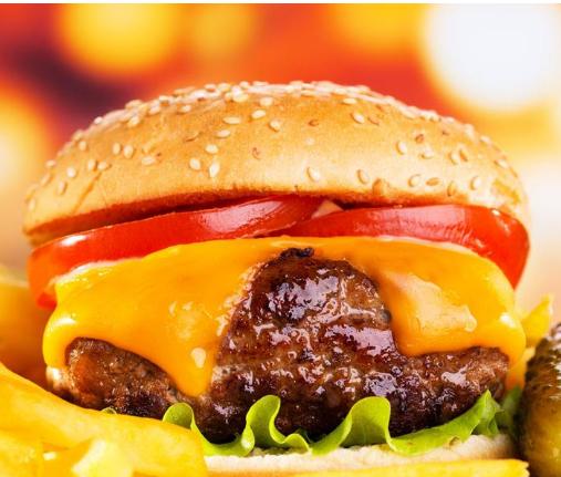 7個堡炙烤牛肉漢堡加盟圖片