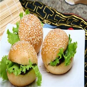 格子漢堡加盟圖片