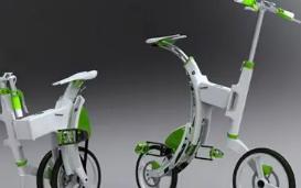 邁寶龍折疊電動車